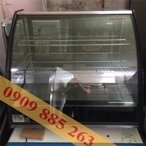 tủ trưng bày bánh kem để bàn