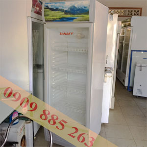 tủ mát cũ sanaky 400 lít