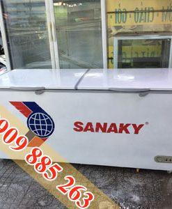 tủ đông cũ sanaky 850L