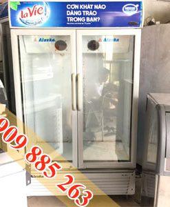 tủ mát 800 lít alaska