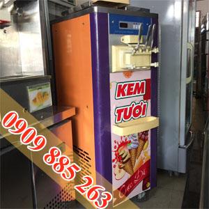 bán máy làm kem tươi 3 vòi