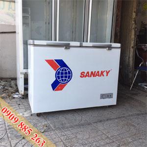 Tủ Đông Mát Cũ Sanaky