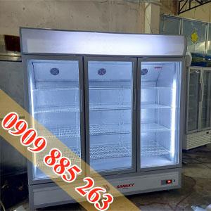 Tủ Mát 1500 Lít 3 Cửa Sanaky
